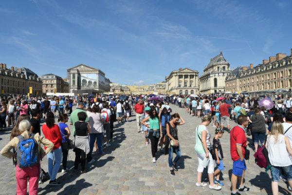 Versailles-queue