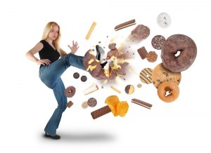 Say no to unhealthy snack food and sweets